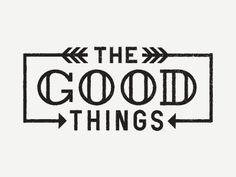 Dribbble - The Good Things by Ryan Feerer