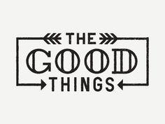 Dribbble - The Good Things by Ryan Feerer