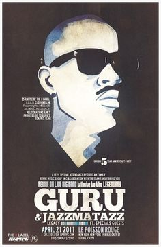 NYC: Win Tix To Revive Da Live's Tribute to Guru/Jazzmatazz (4/21) #music #poster