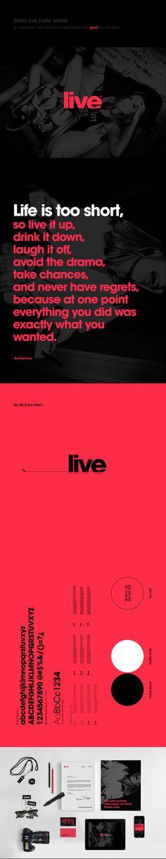 Live Club on Behance