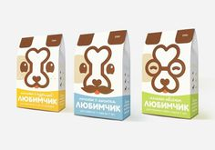 Сookies for dogs. Package. on the Behance Network