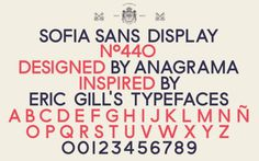 Merde! - Typeface (Sofia Sans Display) #graphic #typeface