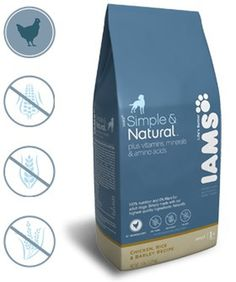 Iams Natural Dog Food Packaging