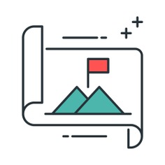 See more icon inspiration related to mission, scroll, mountain, goal, files and folders, business and finance, achievement, flags, landscape, mountains, flag and nature on Flaticon.