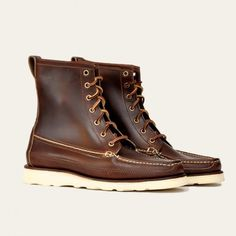 Oak Street Bootmakers | Brown Hunt Boot - Footwear #boots