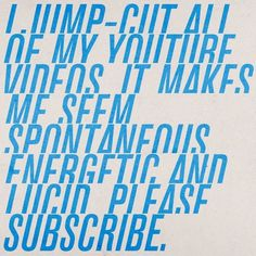 YouTube, Aled Lewis #type