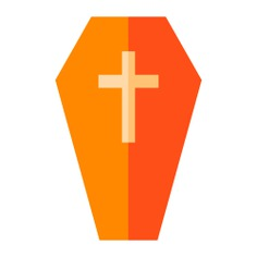 See more icon inspiration related to death, coffin, cultures, wooden, box and cross on Flaticon.
