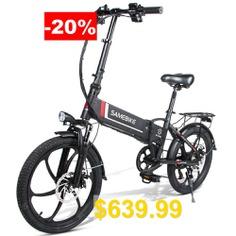 Samebike #20LVXD30 #Smart #Folding #Electric #Moped #Bike #E-bike #350W #35km #Per #Hour