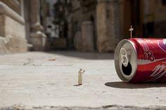 the cool hunter's Photos - SMART ART #coke #church #mini