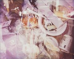 Soho, NYC | Flickr - Photo Sharing! #city #exposure #polaroid #spectra #double #trash #york #garbage #new