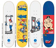 Polar Skate Co. / Jacob Ovgren #deck #collection #graphic #skate #skateboard #killer