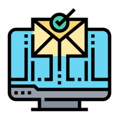 See more icon inspiration related to communications, mail, marketing, message, email, envelope, letter, note and computer on Flaticon.