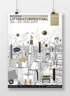 byHands - Børge Bredenbekk #illustration #poster