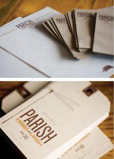 Parish Food & Goods on the Behance Network #packaging #turner #john #food