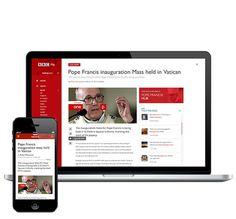 BBC Me concept #news #bbc #responsive #design #web