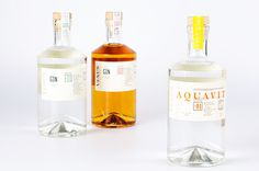 gin, bottle, simplicity, minimal, package, packaging