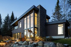 St-Donat House by BONE Structure 17