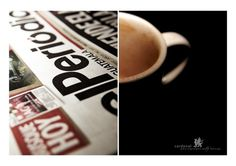GoodNewsBadNews_JustMyCoffee by =SigbertVonOxfeld on deviantART #news #photo #conceptual #book #photography #report