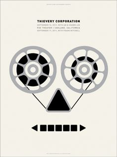 GigPosters.com - Thievery Corporation - Am & Shawn Lee - Frank Mitchell #dirk #lee #mitchell #frank #amshawn #thievery #fowler #corporation