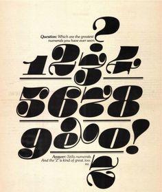 NTHN blog #numerals #serif #numbers