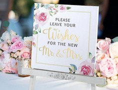 We know why you're here. Either you really like planning ahead, or it's the last minute and you're desperate for inspiration! It's really difficult to decide what to write in a wedding card. Either way, we have examples of wedding wishes for every scenario!