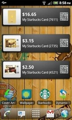 Starbucks Card app now available for Android, too -- unofficially #web #android