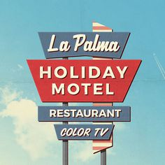 Free Retro Motel Sign Mockups