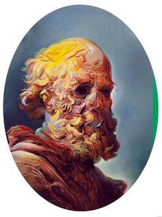 but does it float #max #temporary #glenn #brown #portrait #painting #hetzler