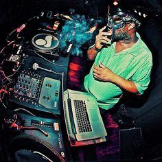 Photos: Metal Face Doom DJing at Roc Raida Tribute, Paris | Stones Throw Records #doom #mf #throw #stones