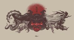 Bushido #illustration #design #art