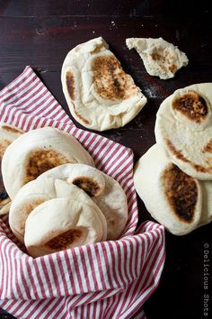 Delicious Shots: Homemade Pita Bread