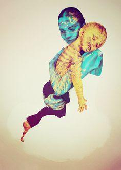 Generative Prints - Human Mix #generative #graphic #illustration #poster #art