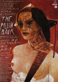 The Pillow Book Movie Posters From Movie Poster Shop #polish #poster #film