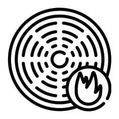 See more icon inspiration related to fire, sensor, smoke, detector, smoke detector, wifi signal, connectivity, electronics, communications, wifi, security and connection on Flaticon.