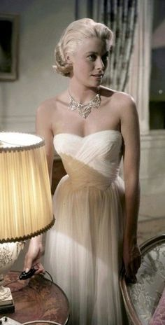 Grace Kelly White Dress From To Catch A Thief - Rustic Wedding Chic #a #thief #grace #kelly #catch #dress #to