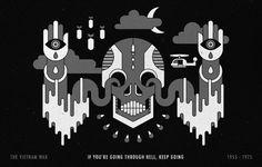 MOMENTUS #vector #white #black #momentus #and #skull
