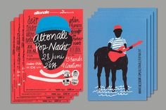 Klass – Büro für Gestaltung ' Altonale Pop Nacht 2014 #print #flyer #festival #illustration #altona