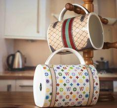 Designer Handbag Mug #mug #gadget #home