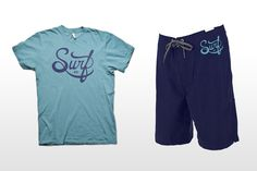 Surf HI apparel - Christopher Vinca #clothing #mock #surf #apparel #branding #up