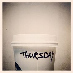Instagram #coffee #thursday #starbucks
