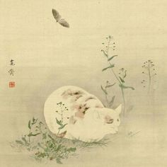 5 | Internet, Meet The Cats Of 19th Century Japan | Co.Design | business + design #sleep #cat #japan #painting