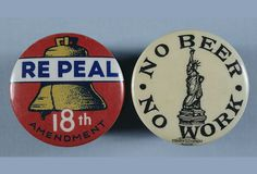 anti prohibition buttons.jpg (605×412) #vintage #beer #pin #prohibition