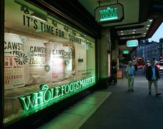 Cawston Press Wholefoods Window Display by Hatched London. #windowdisplay #design #creative