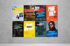 posters, sans serif