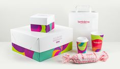 Embalagens #young #branding #packaging #colorful #brasil #dish #paper #cake #bakery #baker #design #brand #purple #stationery #sao #logo #logotype #box #megalodesign #bag #megalo #brazil #cup #package #paulo
