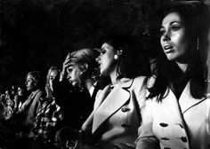Spelersvrouwen van Ajax / players' wives watching the European Cup Final | Flickr - Photo Sharing! #wives #football #photography #bw