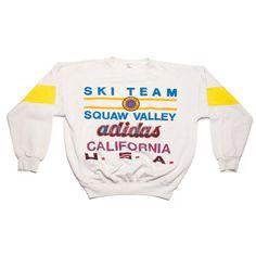 Adidas Sweatshirt 1960 Winter Olympics U.S.A #adidas #vintage #crewneck