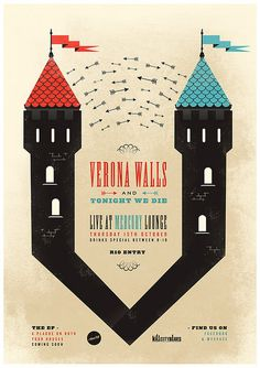 Verona Walls #design #vintage #poster #typography