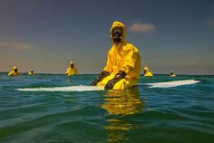 Hazmat Surfing Project by Michael Dyrland