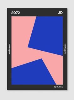 Minimal Poster Series Josh Dring design mindsparkle mag